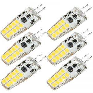 Kakanuo G4 LED Ampoule 3W Equivalent 30W Ampoule à Halogène Blanc Chaud 3000K AC/DC12-20V 300lm Non-Dimmable(Lot de 6) de la marque Kakanuo image 0 produit