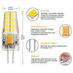 Kakanuo G4 LED Ampoule 3W Equivalent 30W Ampoule à Halogène Blanc Chaud 3000K AC/DC12-20V 300lm Non-Dimmable(Lot de 6) de la marque Kakanuo image 2 produit