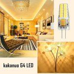 Kakanuo G4 LED Ampoule 3W Equivalent 30W Ampoule à Halogène Blanc Chaud 3000K AC/DC12-20V 300lm Non-Dimmable(Lot de 6) de la marque Kakanuo image 4 produit