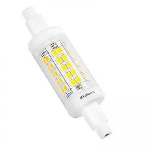 Kakanuo R7s LED 5W 78mm 600 lm Blanc Froid 6000k 100-265V Remplacement D'Ampoule Halogène 50W Projecteur Spot 360 ° Angle de Faisceau Non-Dimmable [Classe énergétique A +] de la marque Kakanuo image 0 produit