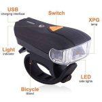Kaxima Vélo Lampe Intelligent Avant lumière capteur de lumière Avant Voyant USB Charger feu arrière 3 Accessoires 75x35x45mm de la marque Kaxima image 1 produit