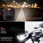 Kaxima Vélo Lampe Intelligent Avant lumière capteur de lumière Avant Voyant USB Charger feu arrière 3 Accessoires 75x35x45mm de la marque Kaxima image 4 produit