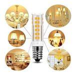 KDP E14-7W Ampoule LED, 550LM (Equivalent 60W Ampoules halogènes/Incandescente) Blanc Chaud 3000K, 360° angle de faisceau, 220-240V, Lot de 2 de la marque KDP image 2 produit