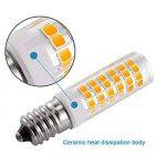 KDP E14-7W Ampoule LED, 550LM (Equivalent 60W Ampoules halogènes/Incandescente) Blanc Chaud 3000K, 360° angle de faisceau, 220-240V, Lot de 2 de la marque KDP image 4 produit