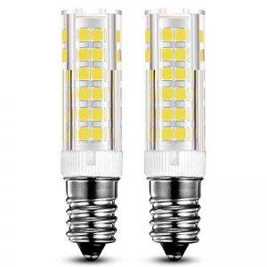 KDP E14 7W Ampoule LED, 550LM (Equivalent 60W Ampoules halogènes/Incandescente) Blanc Froid 6000K, 360° angle de faisceau, 220-240V, Lot de 2 de la marque KDP image 0 produit