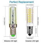 KDP E14 7W Ampoule LED, 550LM (Equivalent 60W Ampoules halogènes/Incandescente) Blanc Froid 6000K, 360° angle de faisceau, 220-240V, Lot de 2 de la marque KDP image 1 produit