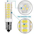 KDP E14 7W Ampoule LED, 550LM (Equivalent 60W Ampoules halogènes/Incandescente) Blanc Froid 6000K, 360° angle de faisceau, 220-240V, Lot de 2 de la marque KDP image 3 produit