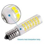 KDP E14 7W Ampoule LED, 550LM (Equivalent 60W Ampoules halogènes/Incandescente) Blanc Froid 6000K, 360° angle de faisceau, 220-240V, Lot de 2 de la marque KDP image 4 produit