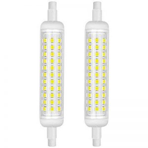 KINDEEP 2-Pack R7S Ampoule LED céramique 118mm 12W, 100W halogène équivalent d'ampoule, Lumière du jour Blanc 6000K, 220V-240V, 360 ° Angle de faisceau, 2-pack [Classe énergétique A +] de la marque KINDEEP image 0 produit