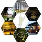 KINDEEP 2-Pack R7S Ampoule LED céramique 118mm 12W, 100W halogène équivalent d'ampoule, Lumière du jour Blanc 6000K, 220V-240V, 360 ° Angle de faisceau, 2-pack [Classe énergétique A +] de la marque KINDEEP image 2 produit