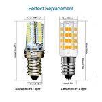 KINDEEP E14-5W Ampoule LED, 400LM (Equivalent 40W Ampoules halogènes/Incandescente) Blanc Chaud 3000K, 360° angle de faisceau, Pack de 2 de la marque KINDEEP image 1 produit