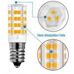 KINDEEP E14-5W Ampoule LED, 400LM (Equivalent 40W Ampoules halogènes/Incandescente) Blanc Chaud 3000K, 360° angle de faisceau, Pack de 2 de la marque KINDEEP image 3 produit