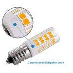 KINDEEP E14-5W Ampoule LED, 400LM (Equivalent 40W Ampoules halogènes/Incandescente) Blanc Chaud 3000K, 360° angle de faisceau, Pack de 2 de la marque KINDEEP image 4 produit