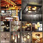 KINGSO 10pack E27 Ampoule Edison à Incandescence Vintage ST64 60W 220V Lampe Tungstène Décorative Ampoule Filament Classique Antique Dimmable Blanc Chaud de la marque KINGSO image 4 produit