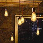 KINGSO 3 Pack E14 Amouple à Incanedescence Edison Rétro Lampe Filament ST48 40W 220V Décoration Eclairage Antique Vintage 2200K Blanc Chaud de la marque KINGSO image 2 produit