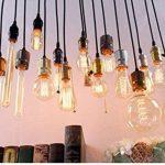KINGSO 3 Pack E27 Edison Ampoule à Incandescence Vintage Lampe Filament Rétro T45 40W 220V Blanc Chaud Idéal pour Décoration Luminaire Antique de la marque KINGSO image 4 produit