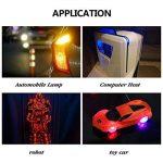 KINGSO 500pcs Diode Électroluminescente Ampoule LED Lampe Ultra-lumineux 1.8-3.6V 120 Degrés d'angle de faisceau à 5 couleurs(100 chaque couleur) de la marque KINGSO image 4 produit