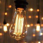 KINGSO 6 Pack E27 60W ST64 Ampoules à incandescence 220V Rétro Edison Ampoule Antique Lampe de la marque KINGSO image 1 produit