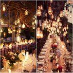 KINGSO 6 Pack E27 Edison Ampoules à Incandescence Vintage Lampe Filament A19 40W 220V Blanc Chaud Idéal pour Nostalgie et Eclairage Antique de la marque KINGSO image 4 produit