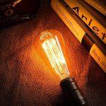 KINGSO 6pack E27 Ampoule Edison à Incandescence Vintage ST64 60W 220V Lampe Tungstène Décorative Ampoule Filament Classique Antique Dimmable Blanc Chaud de la marque KINGSO image 1 produit