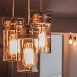 KINGSO 6pack E27 Edison Ampoule à Incandescence Vintage Lampe Filament Rétro ST64 40W 220V Blanc Chaud Idéal pour Décoration Luminaire Antique de la marque KINGSO image 2 produit