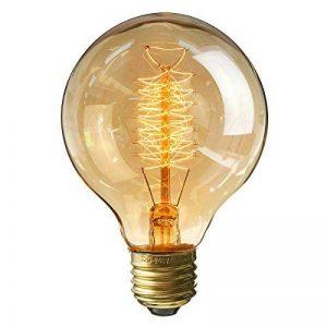 KINGSO ampoule vintage retro Edison ampoule globe (40W, E27, 220V) Lampe blanche filamenteuse chaud idéal pour nostalgie et anciens éclairage de la marque KINGSO image 0 produit