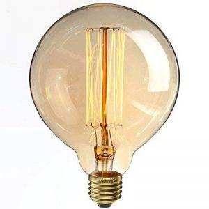 KINGSO Ampoules à Incandescence Lampe Edison 40W 220V G125 Globe Rétro Ampoule Vintage Antique de la marque KINGSO image 0 produit