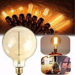 KINGSO Ampoules à Incandescence Lampe Edison 40W 220V G125 Globe Rétro Ampoule Vintage Antique de la marque KINGSO image 4 produit