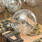KINGSO E27 3W Globe Edison Lampe G95 AC85-265V Ampoule LED Vintage Lumières Colorée pour Noël Blanc Chaud de la marque KINGSO image 4 produit
