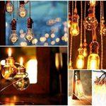 KINGSO E27 40W T45 Ampoule Edison Filament De Tungstène Lampe à Incandescence Classique Vintage Antique 220V de la marque KINGSO image 4 produit