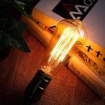 KINGSO E27 Ampoule Edison Filament Vintage Lampe Tungstène Décorative ST64 40W 220V Ampoule à Incandescence Classique Antique Blanc Chaud de la marque KINGSO image 1 produit