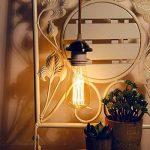 KINGSO E27 Ampoule Edison Filament Vintage Lampe Tungstène Décorative ST64 40W 220V Ampoule à Incandescence Classique Antique Blanc Chaud de la marque KINGSO image 4 produit