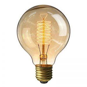 KINGSO E27 Edison Ampoules à Incandescence G80 60W 220V Globe Lampe Filament vintage de la marque KINGSO image 0 produit
