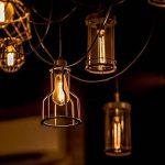 KINGSO E27 Edison Ampoules à Incandescence Vintage Lampe Filament Décorative T30 40W 220V Blanc Chaud Idéal pour Nostalgie et Eclairage Antique de la marque KINGSO image 3 produit