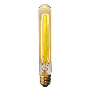 KINGSO E27 Edison Ampoules à Incandescence Vintage Lampe Filament Décorative T30 40W 220V Blanc Chaud Idéal pour Nostalgie et Eclairage Antique de la marque KINGSO image 0 produit