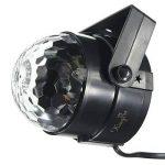 KINGSO Lampe de Scène 5W 100-240V Lumière de Stade Eclairage Soirée Mini Projecteur Spot RGB/GVB LED pour KTV, Bar, DJ Disco, Lumière d'Atmosphère Ampoule Boule Cristal à Commande Sonore Noir de la marque KINGSO image 4 produit