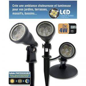 Kit 3 spots LED 4W étanches IP68 de la marque Electris image 0 produit