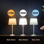 Kit Ampoule LED E27 Dimmable - Lampe Led Variateur 10W Blanc chaud/Blanc froid/Blanc naturel - Ampoules de Scène Ambiance avec Télécommande Sans Fil Autonomie 10 Ans, Couleur et Luminosité Réglable de la marque ATSHARK image 1 produit