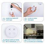 Kit Ampoule LED E27 Dimmable - Lampe Led Variateur 10W Blanc chaud/Blanc froid/Blanc naturel - Ampoules de Scène Ambiance avec Télécommande Sans Fil Autonomie 10 Ans, Couleur et Luminosité Réglable de la marque ATSHARK image 2 produit
