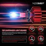 Kit De Conversion D'ampoule De Phare De LED, H1 / H3 / H4 / H7 / H11 / 9005/9006, Ampoule Menée Superbe Superbe De 60W 10000Lm, Blanc 6500K, 100000 Heures De Vie,9005 de la marque L&K image 1 produit