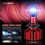 Kit De Conversion D'ampoule De Phare De LED, H1 / H3 / H4 / H7 / H11 / 9005/9006, Ampoule Menée Superbe Superbe De 60W 10000Lm, Blanc 6500K, 100000 Heures De Vie,9005 de la marque L&K image 2 produit