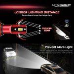 Kit De Conversion D'ampoule De Phare De LED, H1 / H3 / H4 / H7 / H11 / 9005/9006, Ampoule Menée Superbe Superbe De 60W 10000Lm, Blanc 6500K, 100000 Heures De Vie,9005 de la marque L&K image 3 produit
