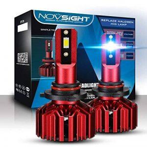 Kit De Conversion D'ampoule De Phare De LED, H1 / H3 / H4 / H7 / H11 / 9005/9006, Ampoule Menée Superbe Superbe De 60W 10000Lm, Blanc 6500K, 100000 Heures De Vie,9005 de la marque L&K image 0 produit