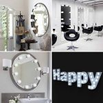 Kit de Lumière LED pour Vanity Miroir, HogarTech Lampe pour Miroir Dimmable 10 Ampoules LED Guirlandes Lumineuses pour Salle de Bain (Miroir Non Inclus) de la marque HogarTech image 3 produit