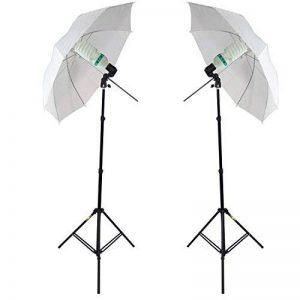 Kit DynaSun 2X W985K 800W Kit d'éclairage Professionnel Studio Photo Vidéo avec Trépied, Ampoule SPI de la marque DynaSun image 0 produit