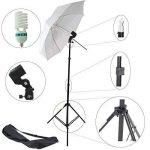 Kit DynaSun 2X W985K 800W Kit d'éclairage Professionnel Studio Photo Vidéo avec Trépied, Ampoule SPI de la marque DynaSun image 1 produit