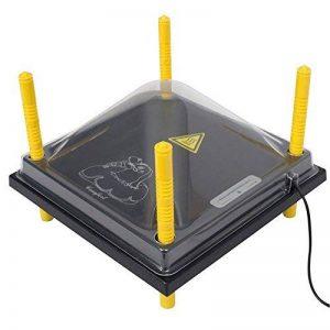 Kit : Plaque de chauffage « Comfort » pour volailles, 30 cm x 30 cm + couvercle de la marque Voss.farming image 0 produit