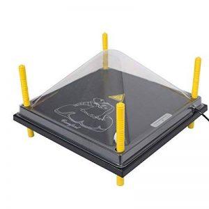 Kit : Plaque de chauffage « Comfort » pour volailles, 40 cm x 40 cm + couvercle de la marque Voss.farming image 0 produit