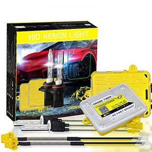 Kit Xénon HID Phares Avant Haute Performance Rapid Demarrage 110 W 9–36V 11000lm 6000K Bi-Xenon 9005 HB3 Ampoule+Ballast Xenon pour voiture de la marque Rodom Ambesic image 0 produit