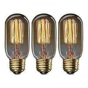 KJLARS 3x Vintage Ampoule Edison E27 25W T45 fil rectiligne rétro éclairage personnalité balcon couloir Art décoratif Ampoules de la marque KJLARS image 0 produit